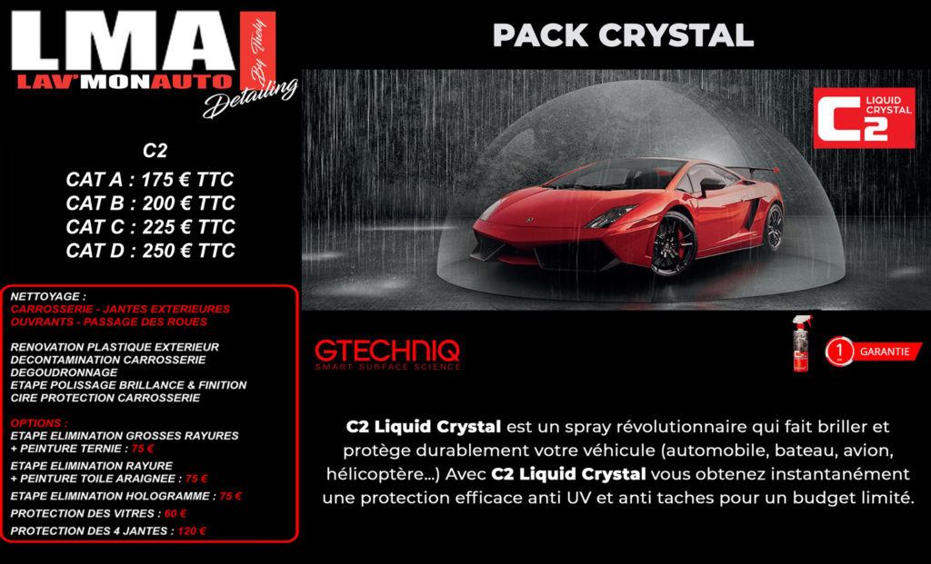 Pack Crystal Detailing réunion